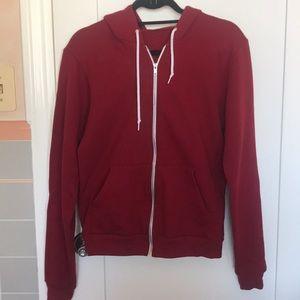 Burgundy, American Apparel hoodie ‼️